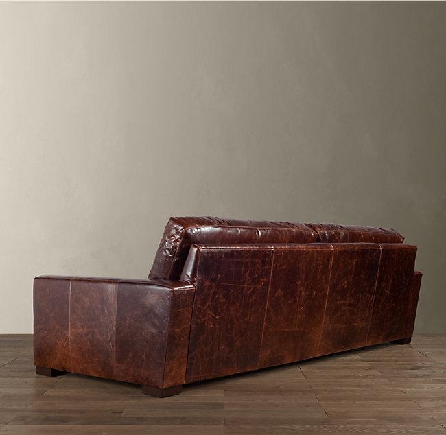 Restoration Hardware Usa: Диван Maxwell Leather Sofa от Restoration Hardware